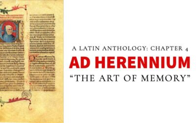 Chapter 4 – Ad Herennium: The Art Of Memory