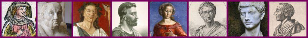 Roman authors from the 1st century B.C.